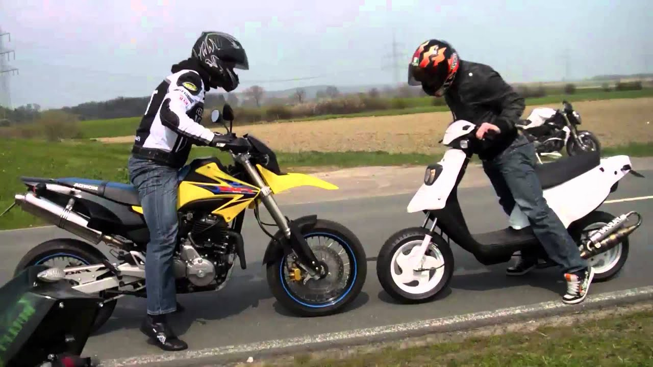 Fmx Wallpaper Hd Scooter Wheelie Tuning Test Fun Attack Hd Youtube