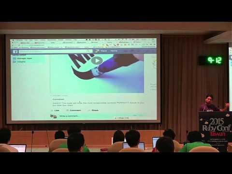 RubyConf Taiwan 2015-Day2 R2 02 RVipul A M:React on Rails
