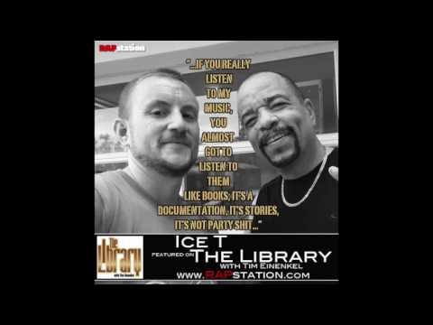 The Library: Ice T Interview; Now Pay Attention