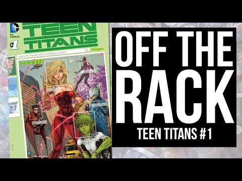TEEN TITANS Relaunch for the New 52!
