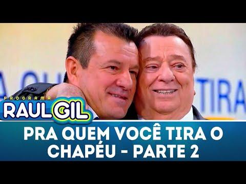 Para Quem Você Tira o Chapéu - Dunga - Parte 2 | Programa Raul Gil (23/06/18)