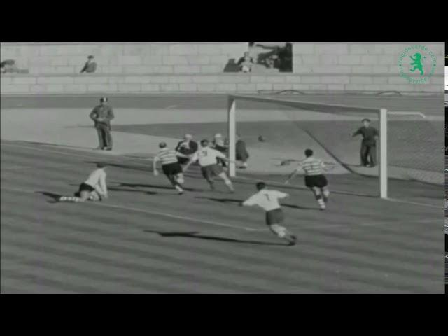 Sporting CP 3-3 Partizan, 1955 - Primeiro jogo Taça dos Campeões | Champions League first match ever