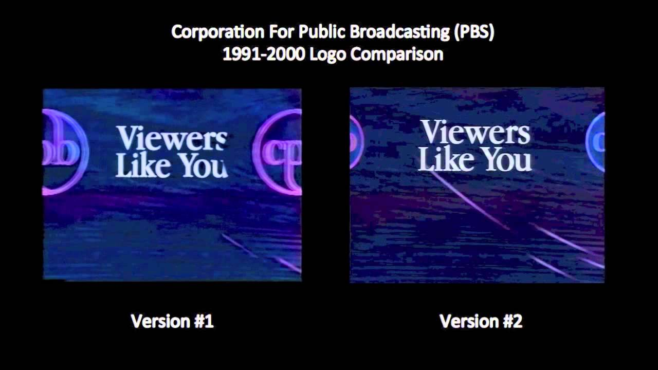 pbs corporation for public broadcasting 19912000 logo