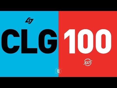 CLG vs. 100 - NA LCS Week 1 Match Highlights (Summer 2018)