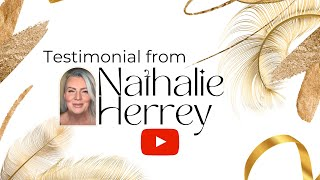 Testimonial by Nathalie Herrey