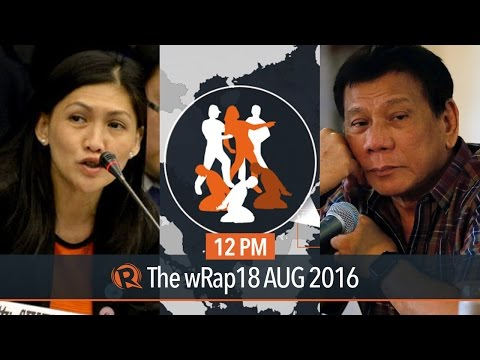 Duterte, RCBC manager, Abu Sayyaf | 12PM wRap