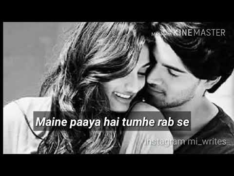 Pass Baitho Na Zara Ek Baat Karni Hai / Whatsapp Status/ Insta:mi_writes_