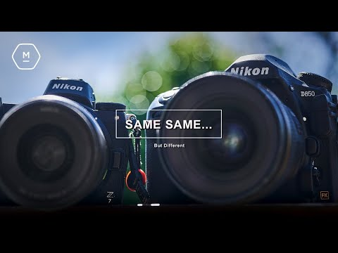 Nikon D850 Vs Z7 | 'Meant to Be the Same' Some Complained | Opinion Piece Why Difference Makes Sense