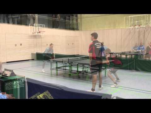 Tischtennis: TSV Deggendorf - DJK Haselbach 2015