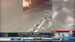 Hawaii Island Hurricane Lane update Friday morning from Wil Okabe
