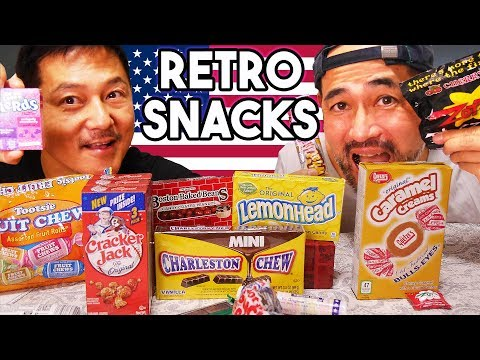 Japanese Try American Retro Candy!