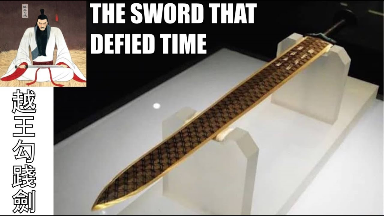 The Mysterious Sword Of Goujian - Ancient China