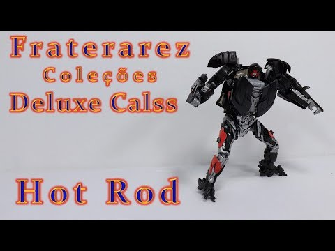 HOT ROD DELUXE CLASS TRANSFORMERS THE LAST KNIGHT FRATERAREZ COLECOES 203