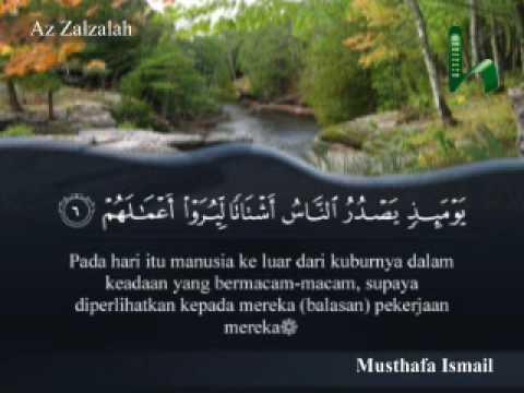 099 Surah Az Zalzalah Al Quran Terjemahan Indonesia