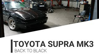 Toyota supra MK3 - back to black