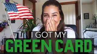 I GOT MY GREEN CARD! || SURPRISE - I'M MOVING TO THE UNITED STATES + How I Won The Lottery