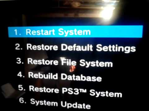 How to fix the ps3 problem(freezing) - YouTube