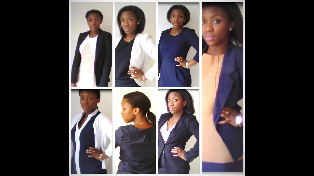 chic work style tips lookbook