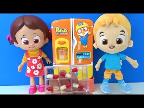 Birgün birgün bir çocuk şeker de sanmış ilacı şarkısı - Niloya çizgi filmi bebeği şarkı söylüyor