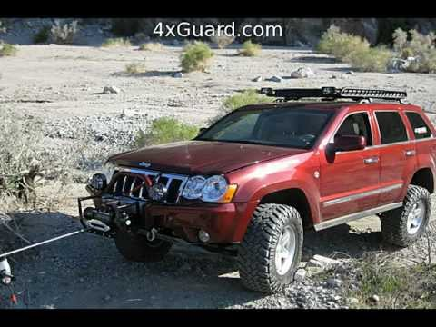 Jeep Grand Cherokee Off Road Bumper >> Jeep Grand Cherokee WK Winch Bumpers - YouTube