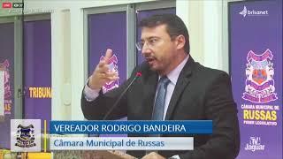 Pronunciamento - Rodrigo Bandeira (19-01-2021)