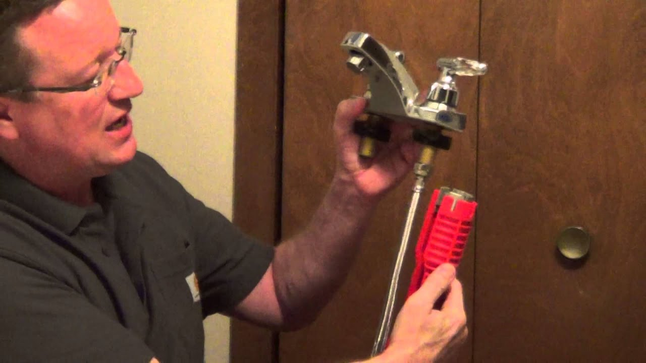 Bathroom Faucet Tools tool to remove and install a faucet - plumbing tool - youtube