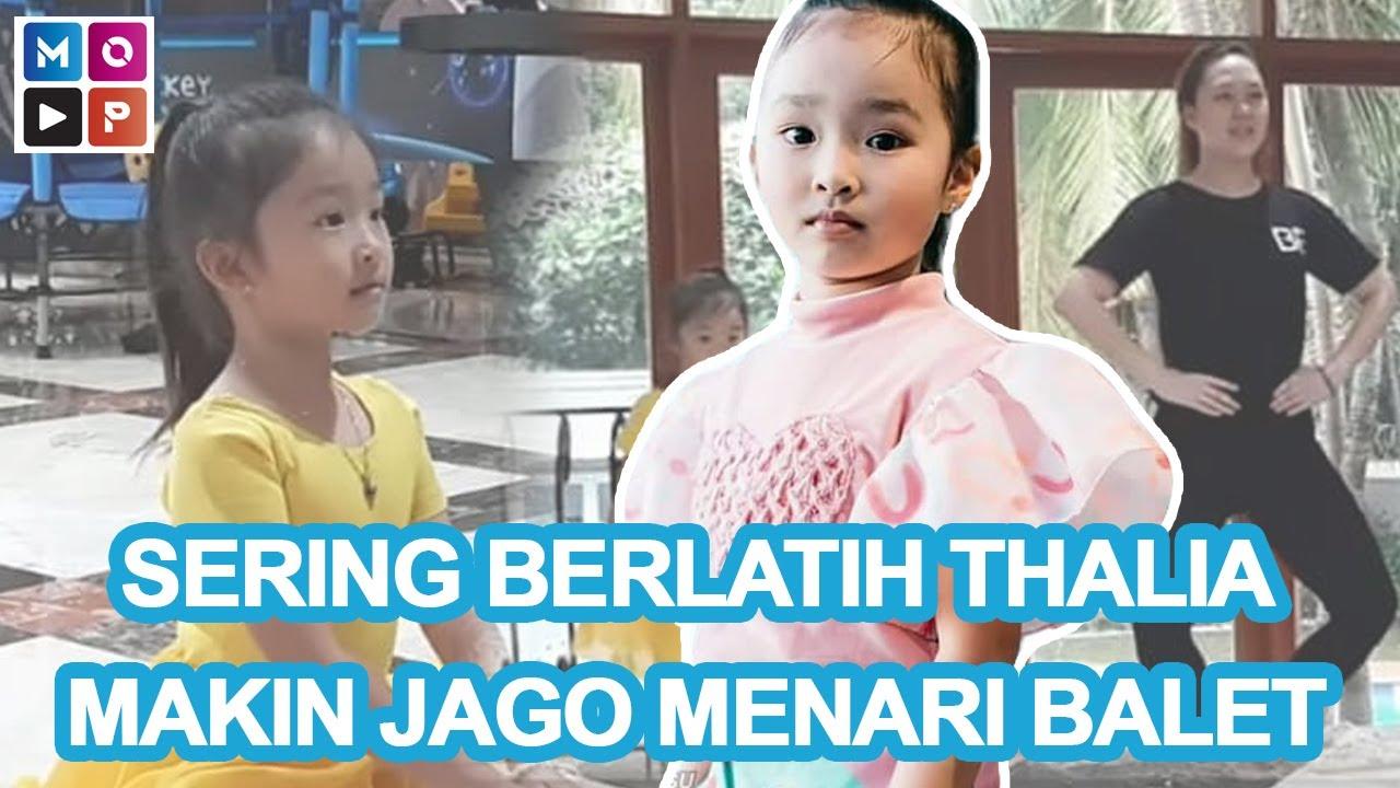 SERING BERLATIH BIKIN CICI THALIA MAKIN JAGO MENARI BALET - CUAP CUAP SORE