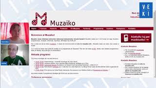 2020 VEKI: Muzaiko en instruado de Esperanto-Veronika Poór, Rafael Henrique Zerbetto