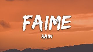 Faime - Rain (Lyrics)