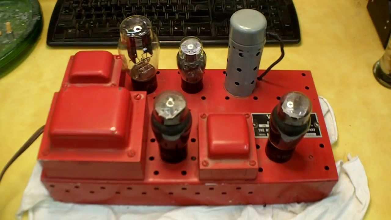 1942 Wurlitzer  U0026quot Victory U0026quot  Jukebox Amplifier Repair