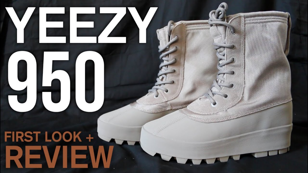 a3c7efd8bda Adidas Yeezy 950 First Look + Review | Kanye West