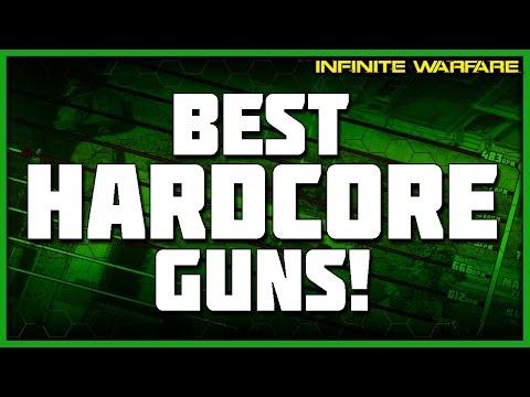 Best Gun in Hardcore Game Modes! (Infinite Warfare Hardcore Stats)