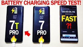OnePlus 7T PRO | Battery Charging Speed Test! (SURPRISING END!) 🔥🔥🔥