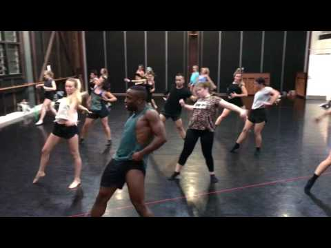 Last Lyrical Mash Up Class at Sydney Dance Company
