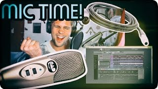 cad u37 usb studio condenser microphone review   autotune unboxing the cad m179 xlr