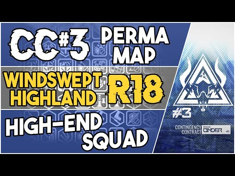 CC#3 Permanent Map - Windswept Highland Risk 18 | High End Squad |【Arknights】