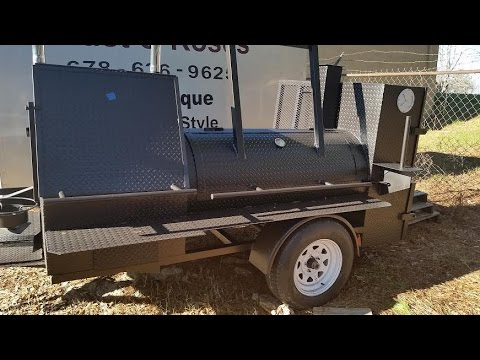 Wedding Gift BBQ Smoker Catering Business Restaurant Grill Food Truck FOR SALE Smoker BBQ Pit