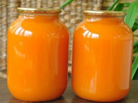 Как делать сок из тыквы на зиму