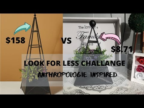 look-for-less-challenge-||-anthropologie-inspired-topiary-stand-diy-||-january-2020