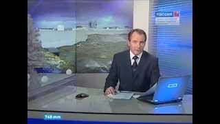 Дамба вновь спасает Петербург от наводнения (13 января 2015 года)