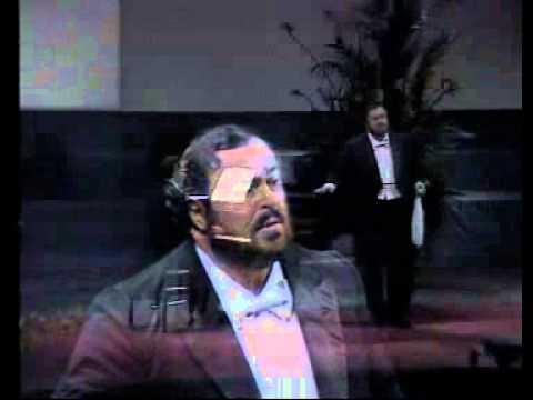 Luciano Pavarotti - Che faro senza Euridice (Bari, 1984)