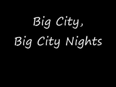 Scorpions  Big City Nights Lyrics