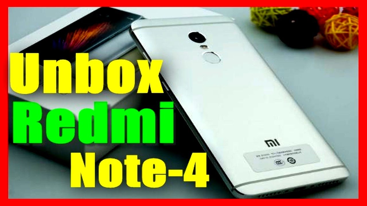 Xiaomi Redmi Note 4 Unboxing & Hands on review (bangla)