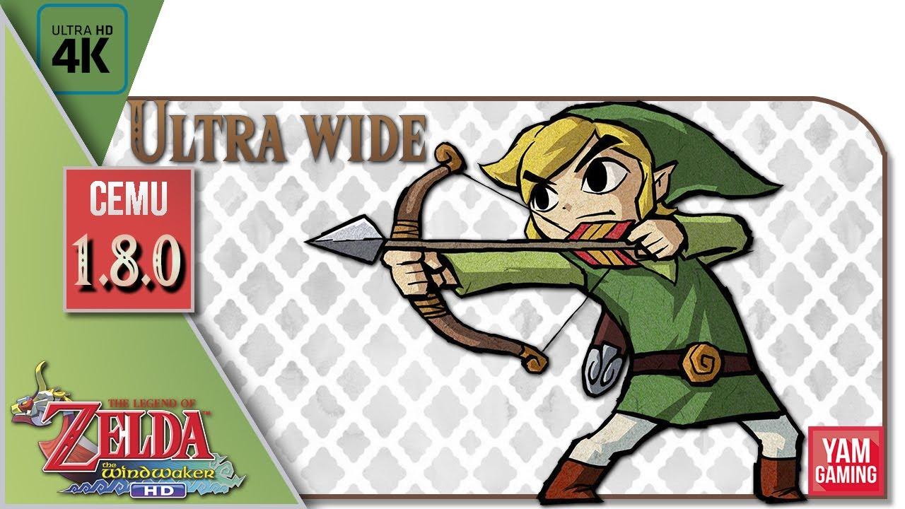 Zelda Wind Waker Ultrawide [Cemu 1 8 0] (60fps) | 21:9 - Reshade -  FrameInterpolation