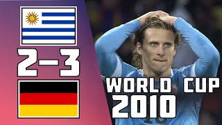 Uruguay VS Germany 2 3 Goals Highlights 2010 World Cup