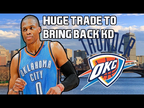 NBA 2K17 MyGm Ep.1 | Oklahoma City Thunder |Huge Trade To Bring Back Kevin Durant! Kd and Russ fight