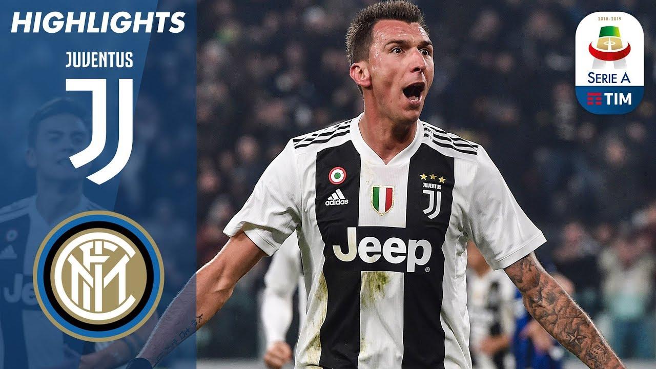 Juventus 1-0 Inter | Mandžukić porta la Juve alla vittoria con un gol di testa | Serie A