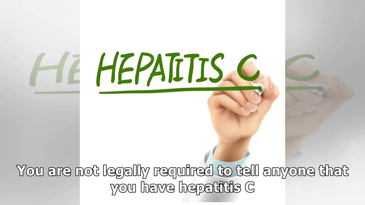 Telling Others We Have Hepatitis C
