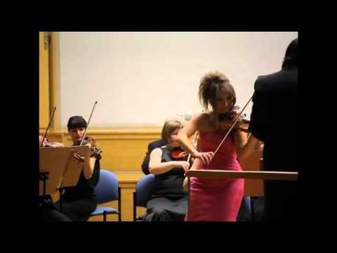Katarzyna Duda - skrzypce, Ruben Silva - dyrygent, Orkiestra Filharmonii Zielonogórskiej