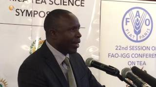 Kenya to host the 22nd Session of FAO IGG on Tea conference